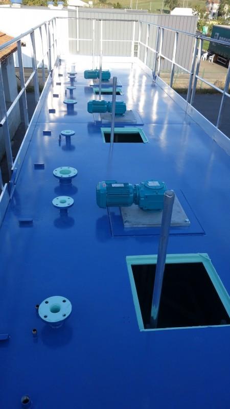 Conteneur filtre pour eaux
