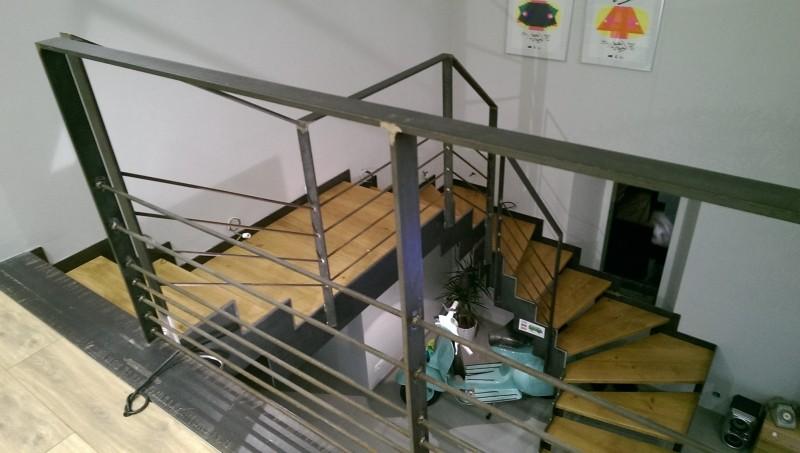 Escalier après décoration