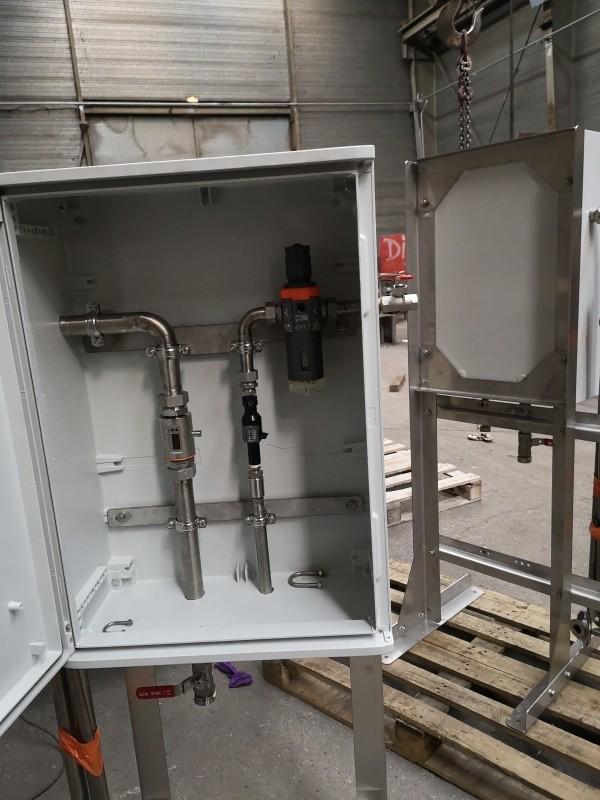 Armoire de gestion de pompe pneumatique