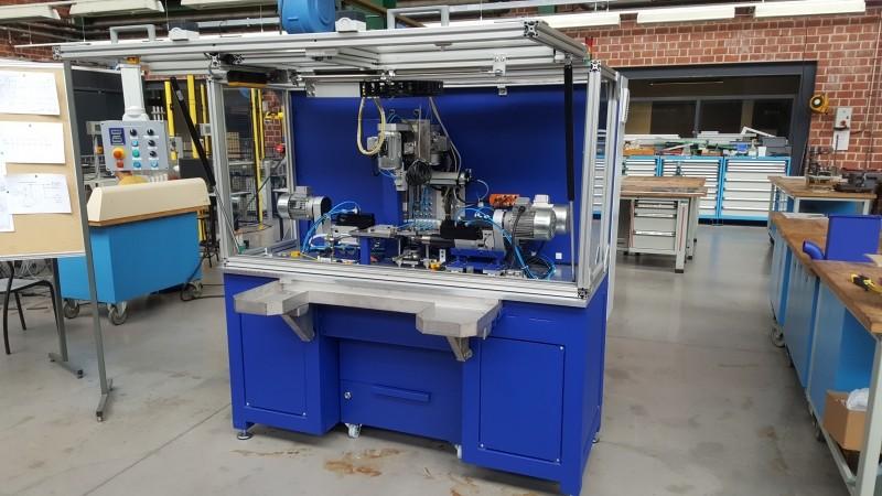 Structure acier pour machine spéciale