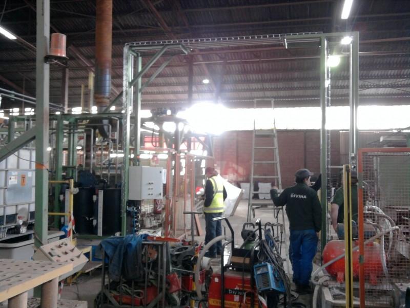 Skid préparation et distribution d'un liquide