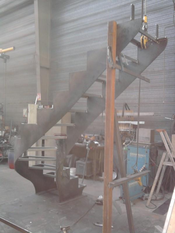 Escalier finit en atelier