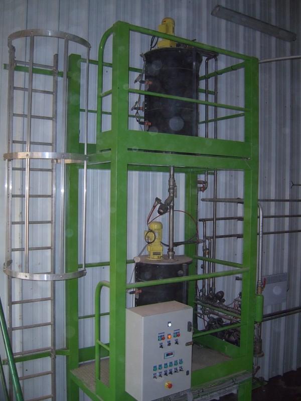 Unité de stockage et de distribution de 'Baryum'