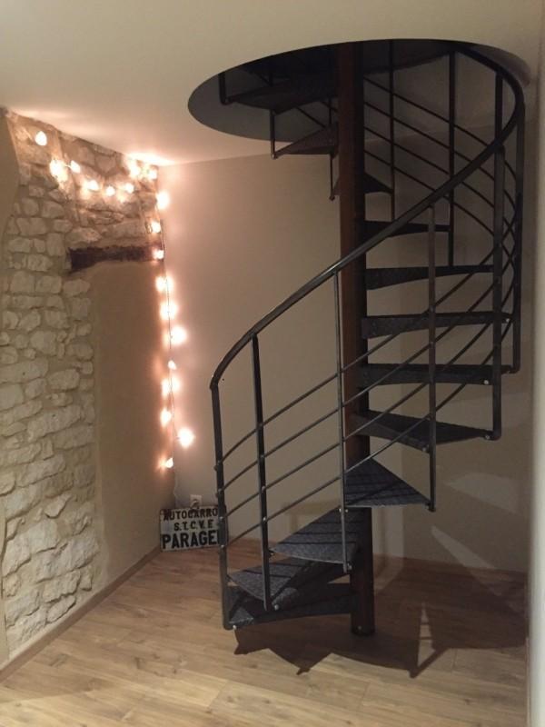 Escalier hélicoïdale métallique 'Gasc-Mas'