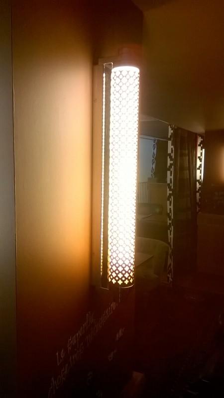 Habillage de luminaires interieures
