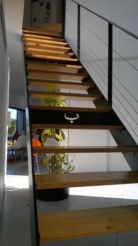 "Escalier métallique intérieur ""Bondibenne"""