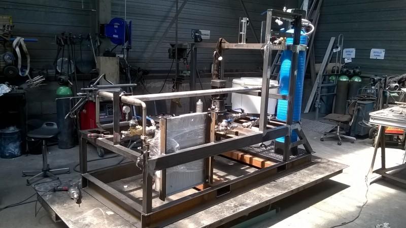 Skid de préparation et distribution d'eau