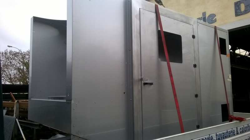 Châssis inox pour machine agro alimentaire
